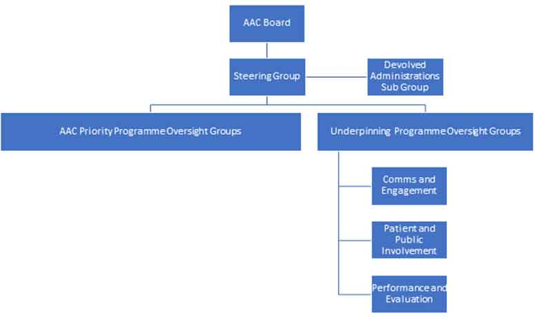 AAC governance structure