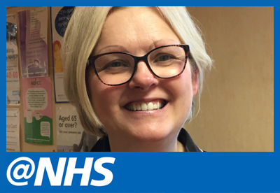 Sally Margerison, @NHS curator