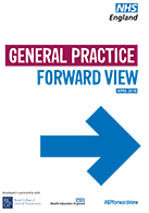 The front cover of the General Practice Forward View