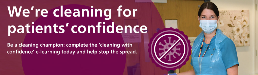 Cleaning for Confidence banner image
