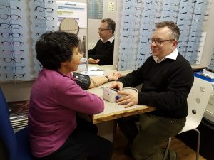 Blood pressure check is part of the Health Check
