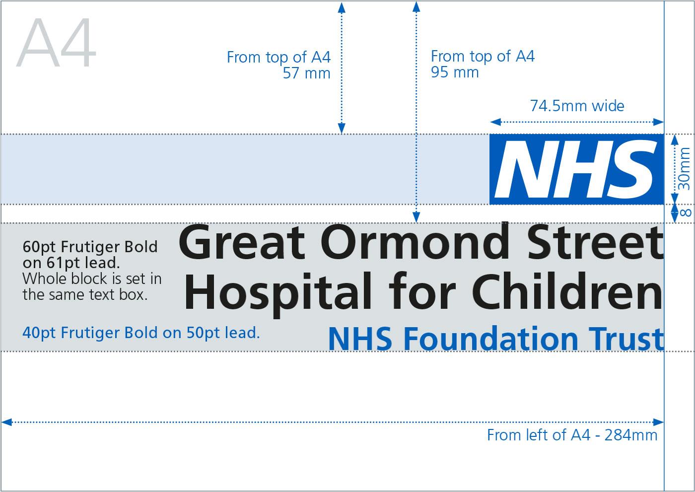 NHS Identity Guidelines | Organisational logos