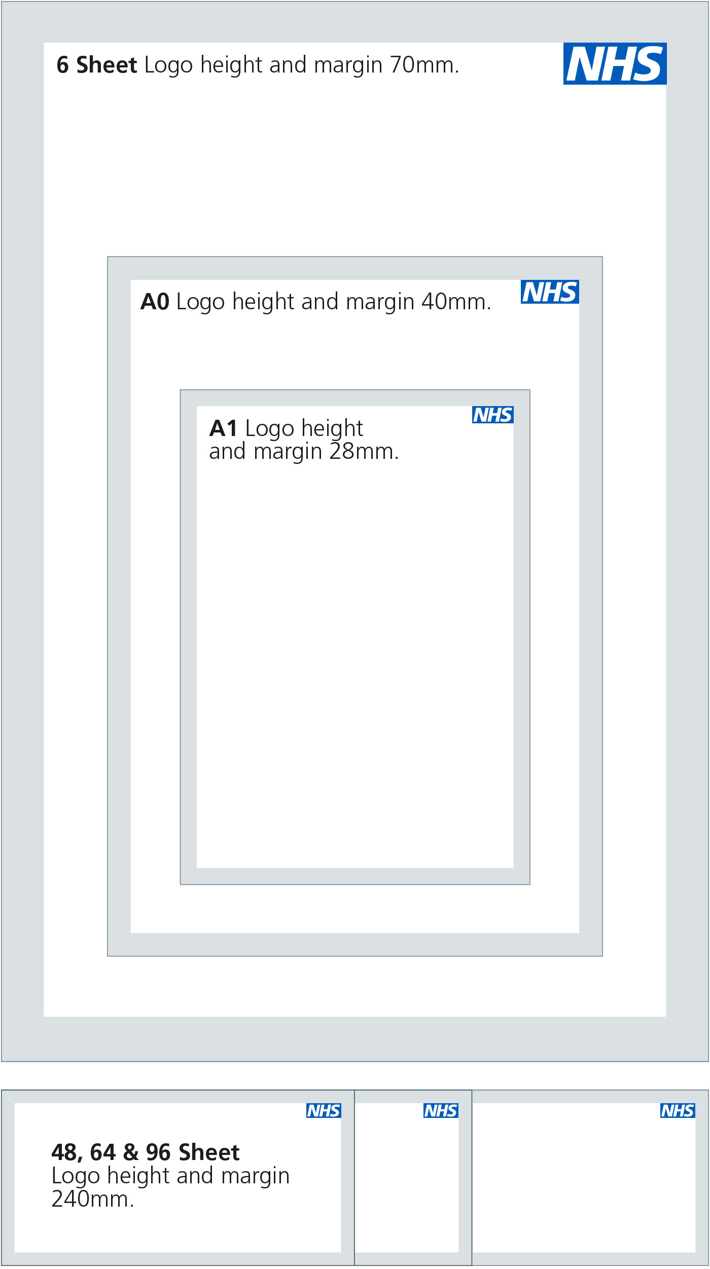 Nhs identity guidelines nhs logo typical advertising poster sizes magicingreecefo Image collections