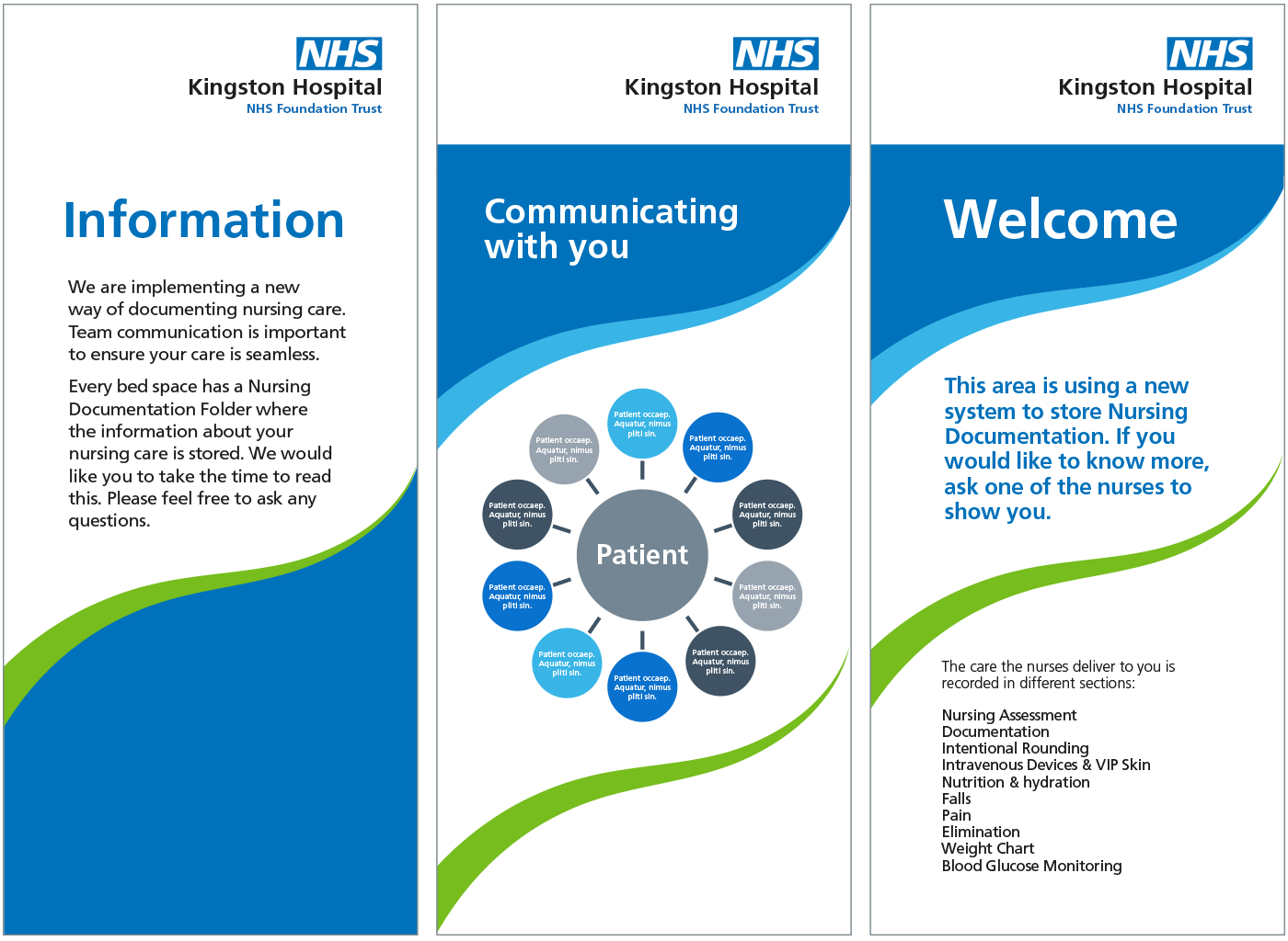 nhs identity guidelines nhs patient information leaflets