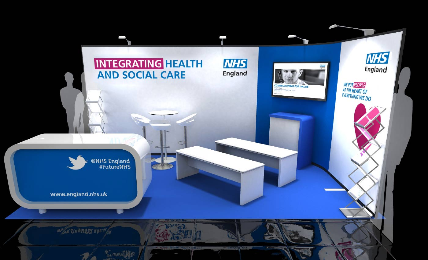 Exhibition Stand Design Guidelines : Nhs identity guidelines exhibition stand