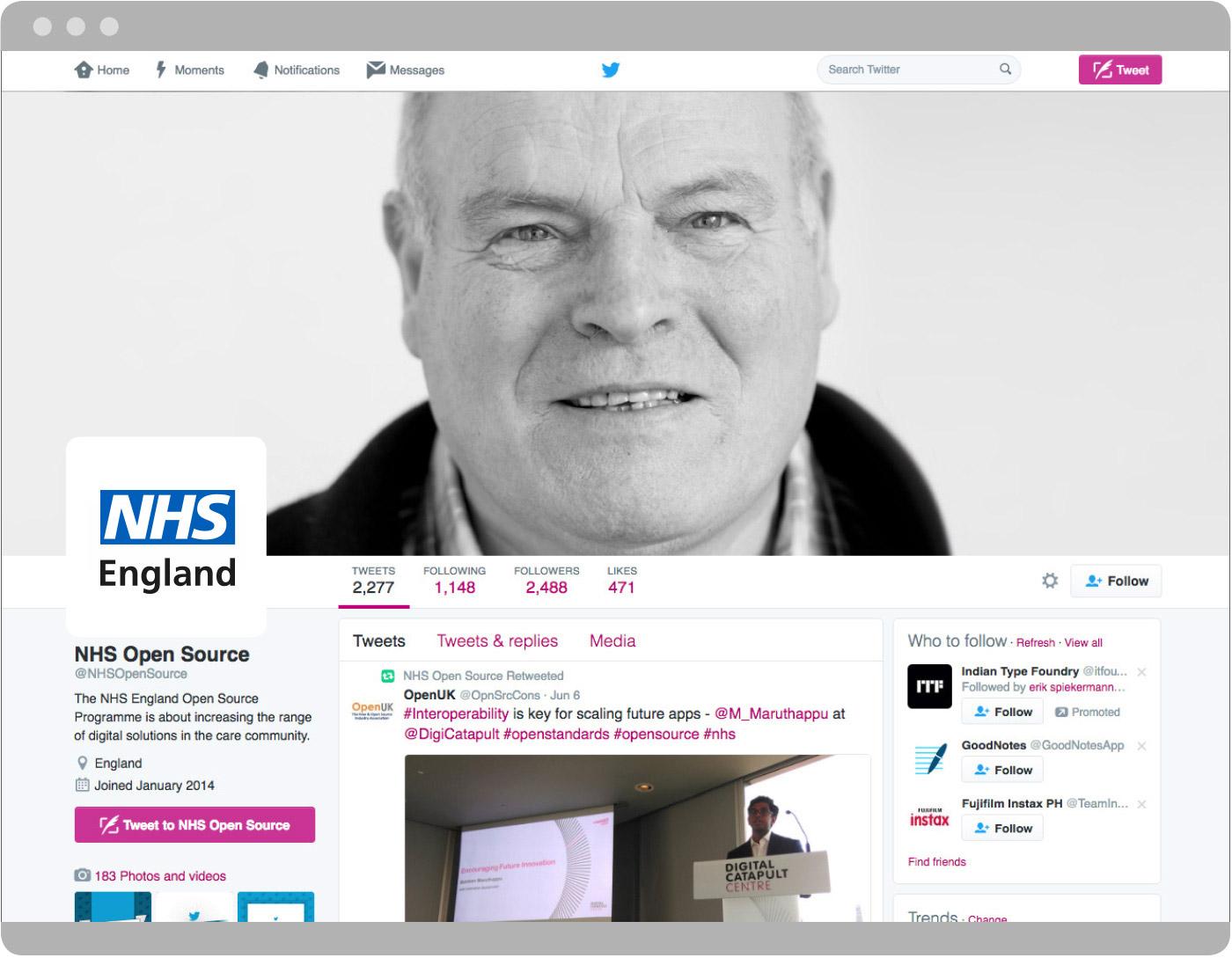 NHS Identity Guidelines | Categories | Social media