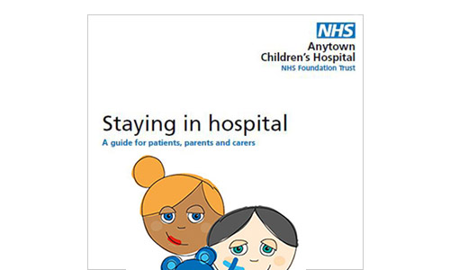 Staying in hospital leaflet