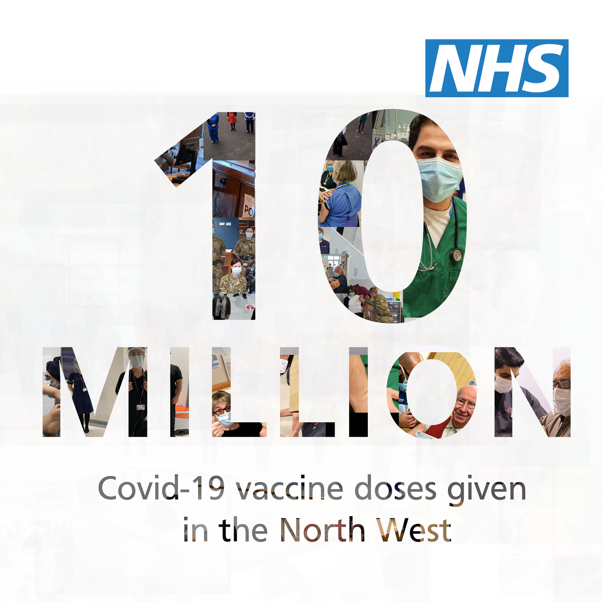 10 million doses of the covid vaccine given