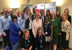 Photo of the team at Sussex Partnership NHS Trust