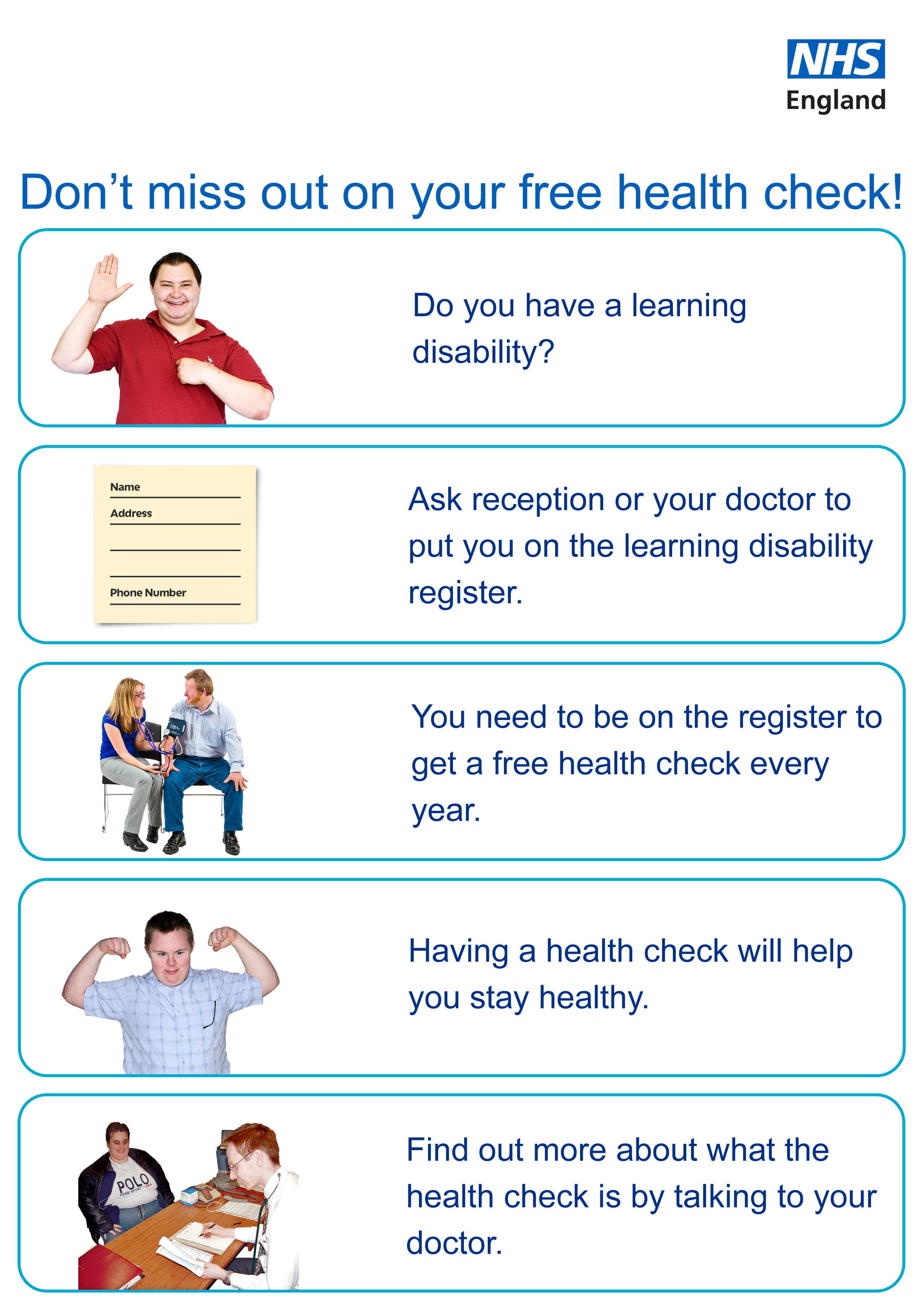 Nhs england south west resource hub for Registrator health check