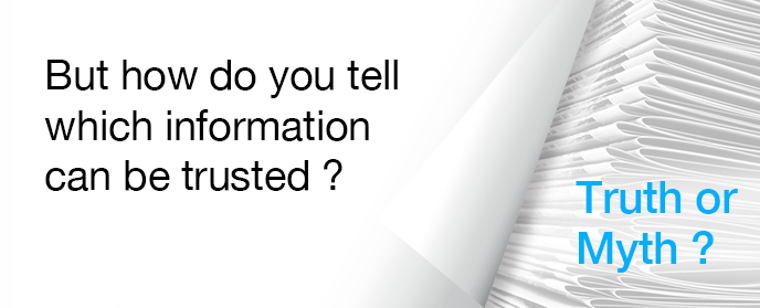 But how do you tell which information can be trusted?