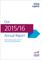 NHS England Annual Report 2015/16 (full document)