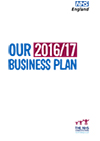 Front cover of NHS England Business Plan 2016/17