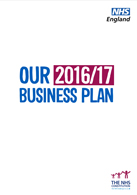 NHS England Business Plan 2016/17
