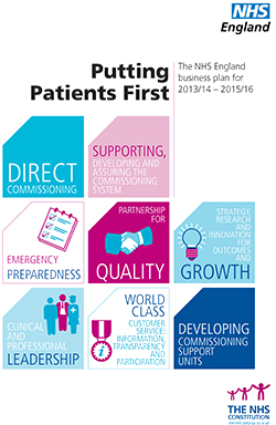 Putting Patients First: NHS England Business Plan for 2013/14 – 2015/16