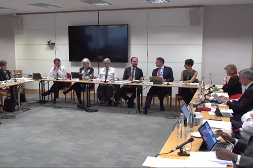 An NHS England Board meeting