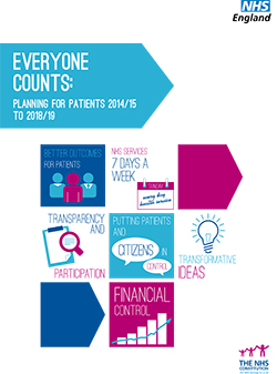 Everyone Counts: Planning for Patients 2014/15 - 2018/19