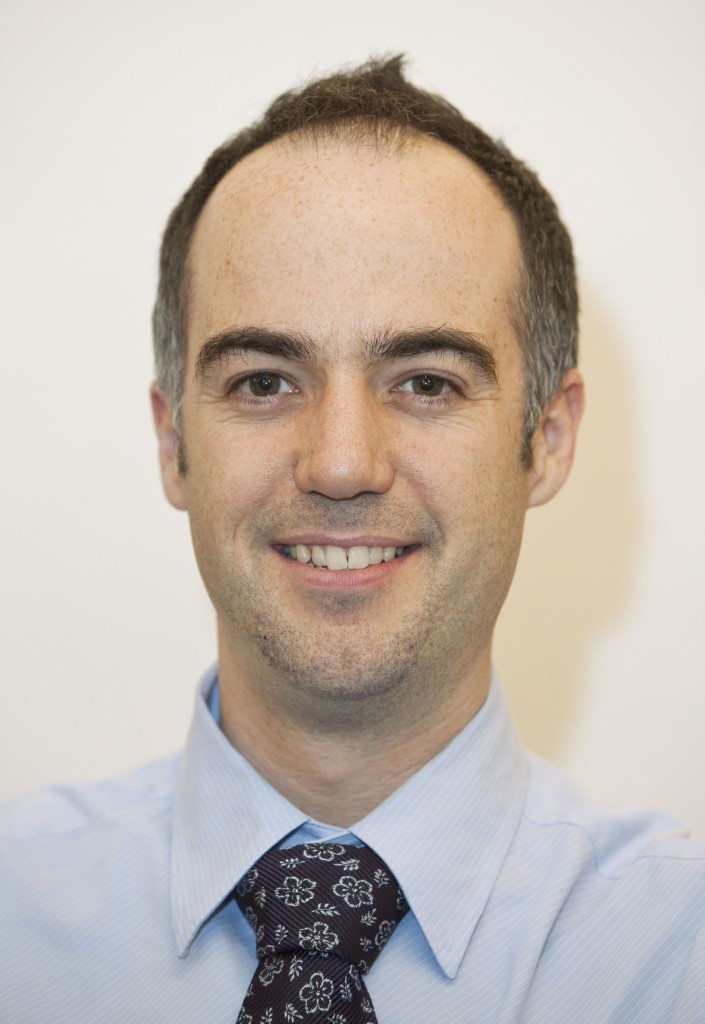 Image of Dr Geraint Lewis, Chief Data Officer of the National Health Service in England.