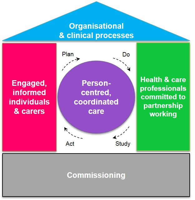 Image of the 'house of care' model