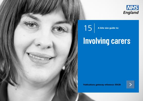 Bite-size guide 15: Involving carers