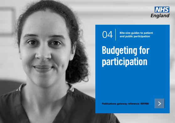 Bite-size guide 4: Budgeting for participation