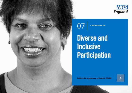 Bite-size guide 7: Diverse and Inclusive Participation