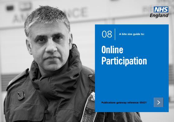 Bite-size guide 8: Online Participation