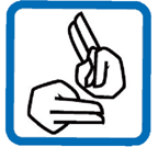 Image of two hands signing