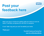 Image of the Feedback box label