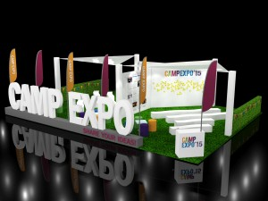 Visual design of Camp Expo