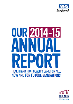NHS England Annual Report 2014/15