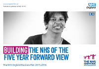 Front cover of 'Building the NHS of the Five Year Forward View'