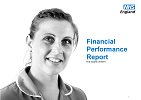 Front cover of 'Financial Performance Report - First Quarter 2015/16'
