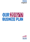 Front cover of NHS England's Business Plan 2016/17