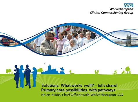 Primary care possibilities with pathways