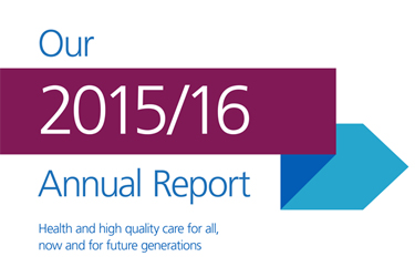 NHS England Annual Report and Accounts 2015/16