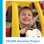 The front cover of the genomics report