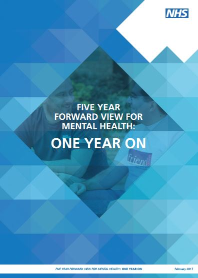 Five Year Forward View for Mental Health - One Year On report