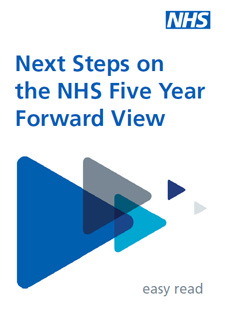 Next steps on the NHS Five Year Forward View - easy read document