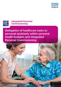 Delegation of healthcare tasks to personal assistants