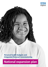 National expansion plan for personal health budgets and Integrated Personal Commissioning