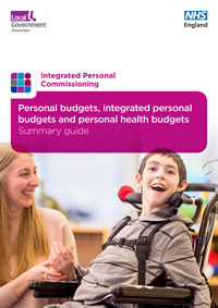 Integrated personal budgets and personal health budgets