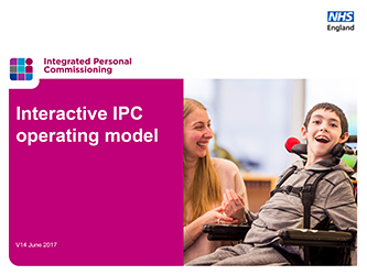Integrated Personal Commissioning operating model