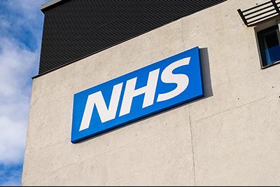 An NHS building