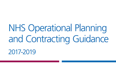 NHS Operational Planning and Contracting Guidance 2017-2019