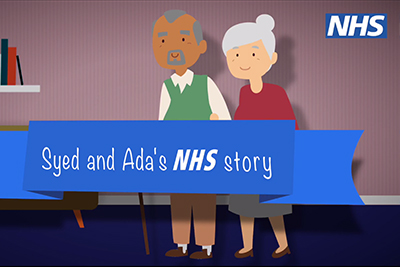 Syed and Ada's NHS story