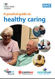 Front cover of the Healthy Aging Guidance