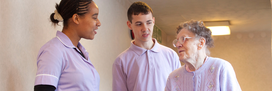 Nursing, midwifery and care staff programmes
