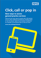 Thumbnail image of poster - Call, click or pop in