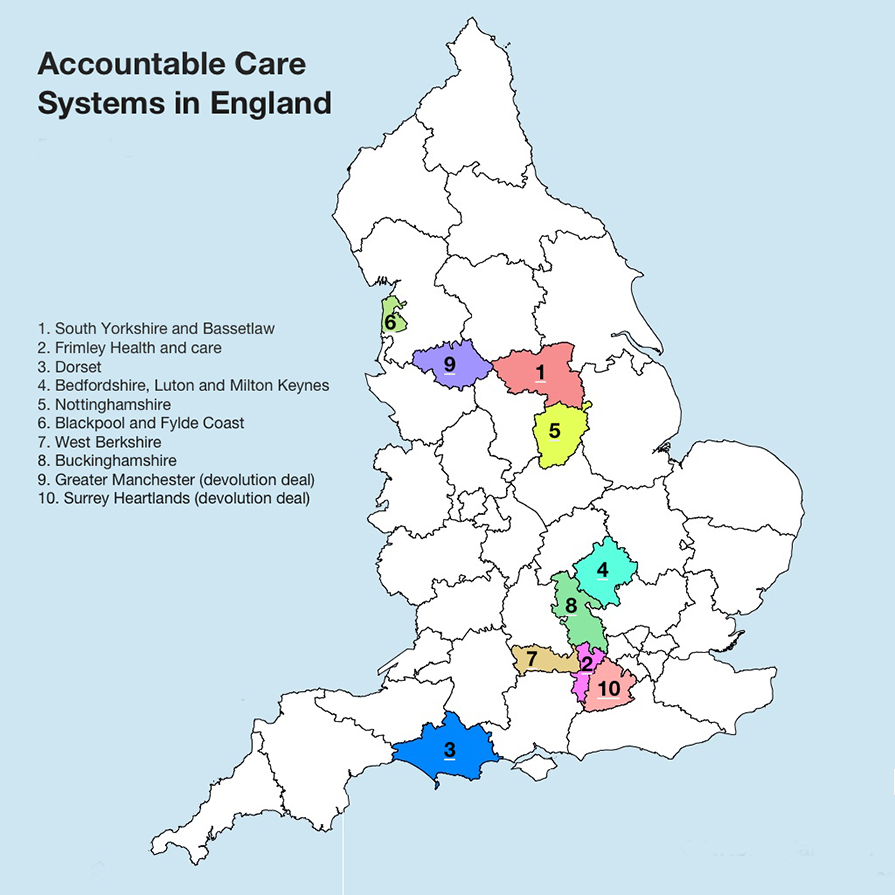 accountable care Accountable care organisations, accountable care systems in england another imposed top-down reorganisation of the nhs – with no mandate this can be very.